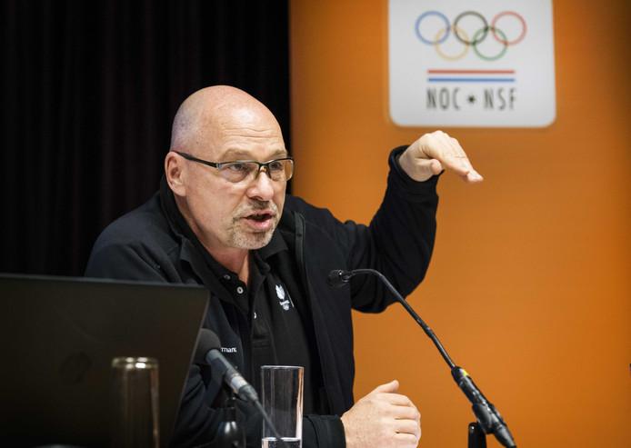 Maurits Hendriks, technisch directeur van NOC*NSF.