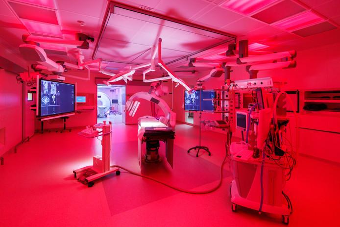 De MRI-scan voor kankerbehandeling.