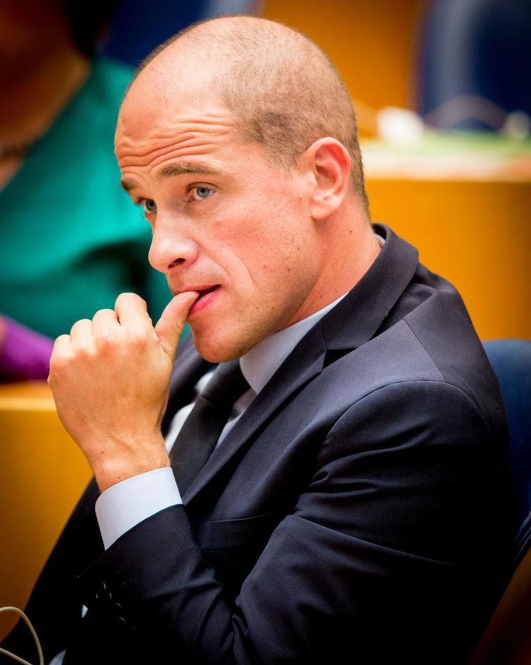 PVDA Fractie voorzitter Diederik Samson Beeld anp
