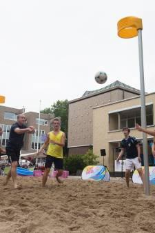 Beachcentre op complex Zevenaarse korfbalclub De Zwaluwen