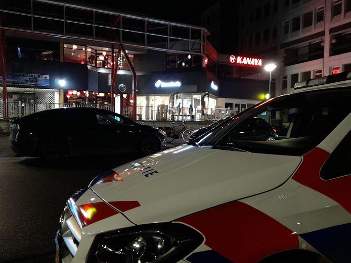 De politie doet onderzoek bij Domino's Pizza