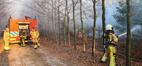Korpsen uit De Krim, Slagharen en Hardenberg schieten te hulp bij zeer grote natuurbrand in Elim
