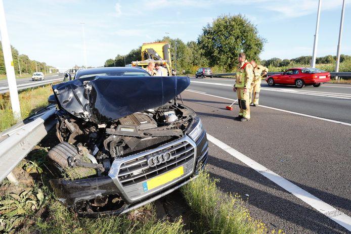 Niemand raakte gewond bij het ongeval