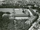 Luchtfoto van klooster en internaat St. Marie in Huijbergen in 1965 aangeleverd door het klooster zelf.