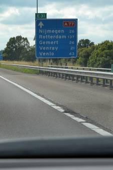 Snel van Uden naar Boxmeer via verlengde A77: Han van Oort blijft lobbyen