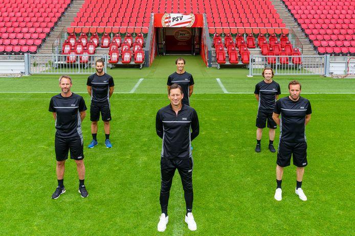 De technische staf van PSV