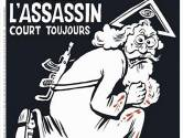 Speciale editie Charlie Hebdo met god als moordenaar op cover