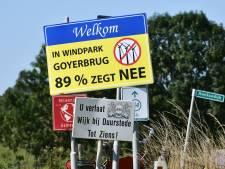 'Burenruzie' tussen Wijk en Houten om windmolens Goyerbrug