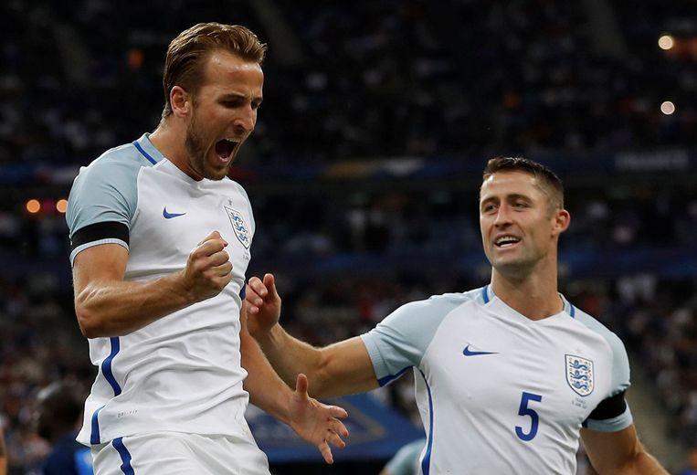 Harry Kane scoorde voor Engeland