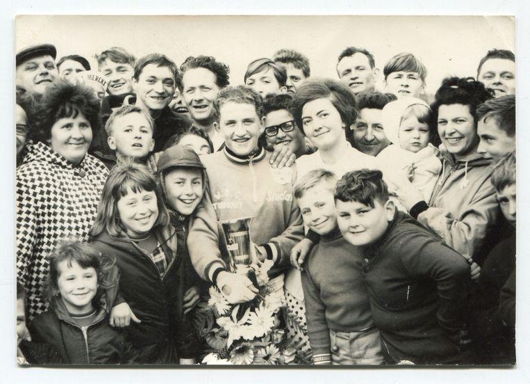 Freddy Maertens won in 1967 het Criterium van de Westhoek