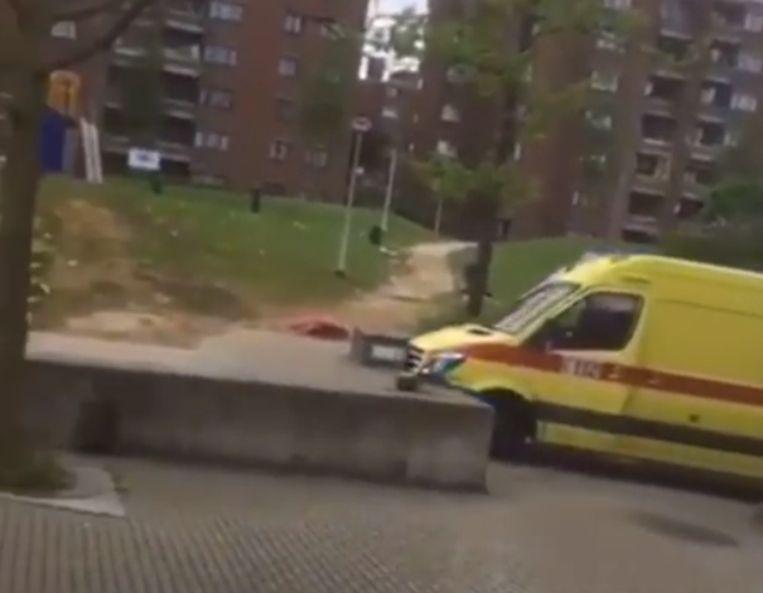Joyriden met de ambulance.