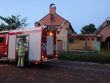 Weer brand in voormalig restaurant De Meern