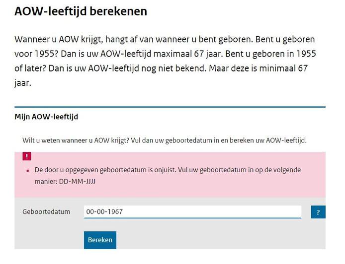 Meer Dan 2000 Mensen In Zuidwest Nederland Zijn Nooit Jarig Kaart