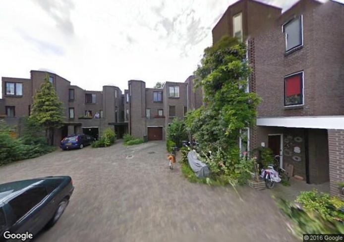 De woningen in de Molenkreek. Foto: Google Streetview