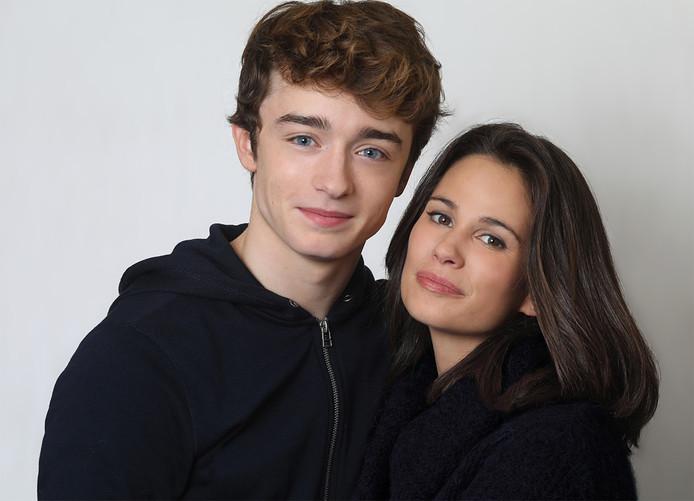 Lucie Lucas avec Thomas Chomel