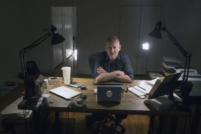 Simon Critchley: 'Als je spreekt over het Kwaad, dan is dat een concept dat aangeeft dat je ieder begrip hebt opgegeven.' Beeld Bernd Bohm