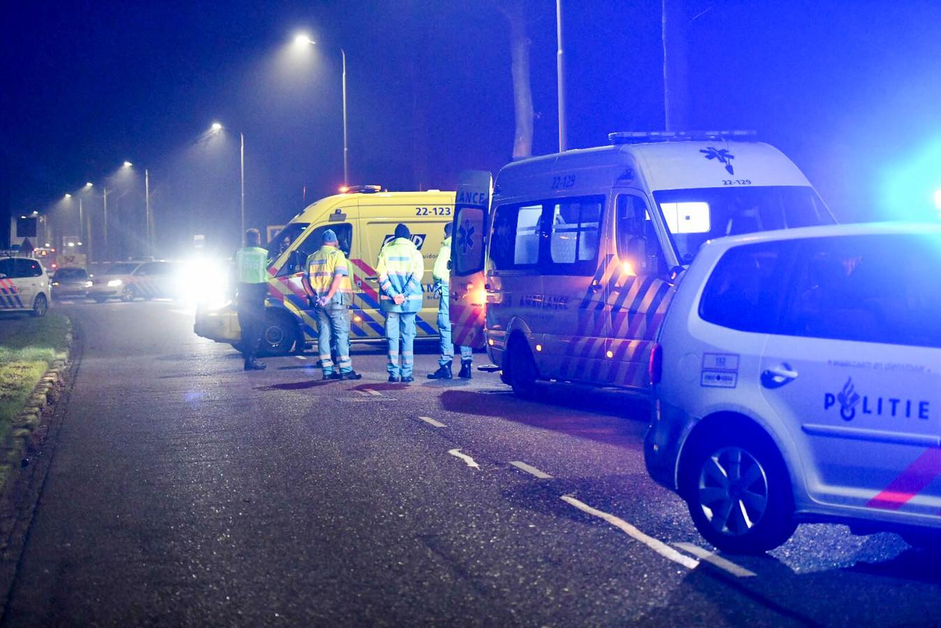 Het dodelijk ongeval vond plaats op de Santheuvel-Oost in Mierlo.