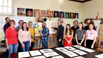 Open atelier tijdens de Dag van de Academies