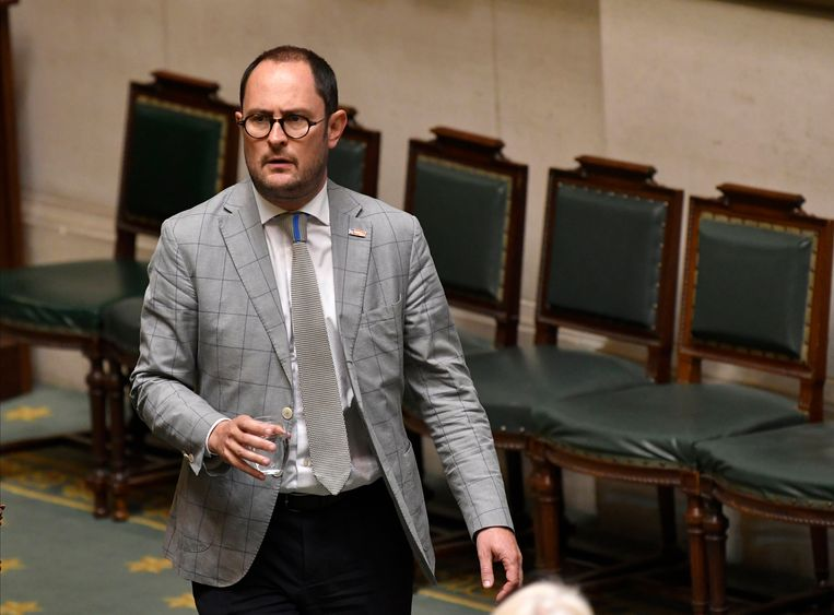 Open Vld-Kamerfractieleider Vincent Van Quickenborne.