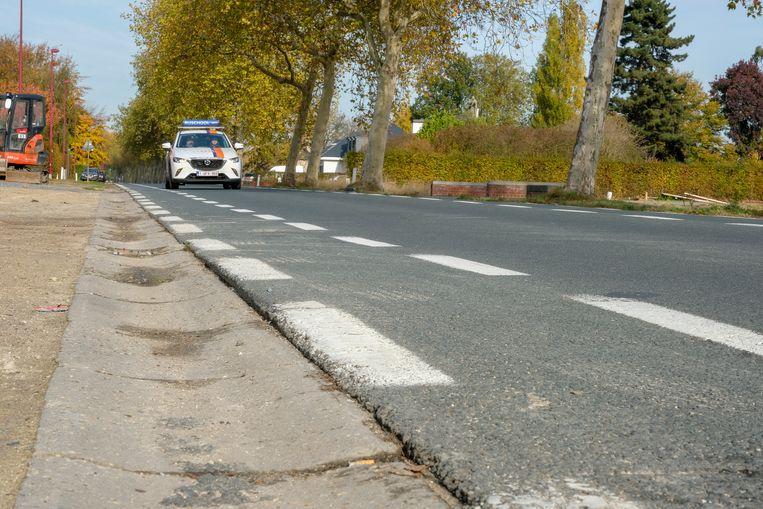 De Tervuursesteenweg krijgt vanaf maandag veilige, vrijliggende fietspaden