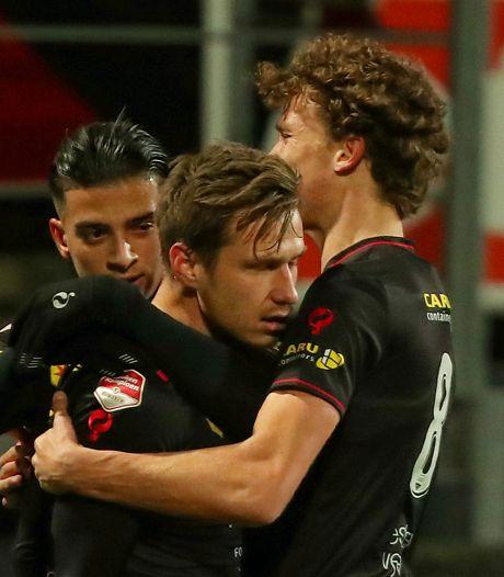 Excelsior voorkomt negatief clubrecord door nipte winst op FC Eindhoven
