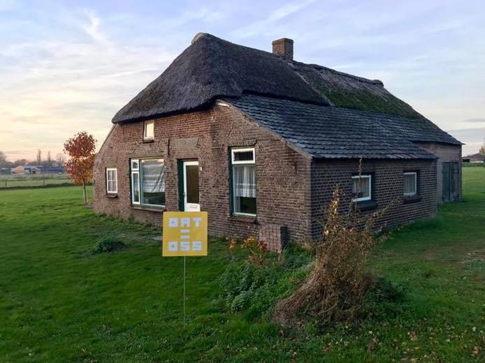 Berghem, de oude boerderij van de familie Den Brok op Tuureind.