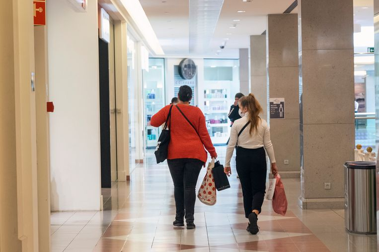 De maximum capaciteit werd zaterdag niet bereikt in het Wijnegem Shoppingcenter.