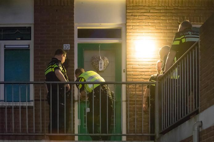 De politie wordt vaak ingeschakeld bij buren overlast.
