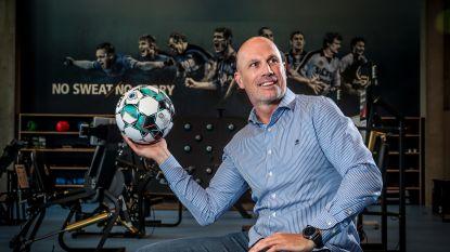 """Het eerste interview van Philippe Clement dit seizoen: """"Ons oefencomplex is het beste van het beste in België, dan kun je Jan Breydel niet laten afbrokkelen"""""""