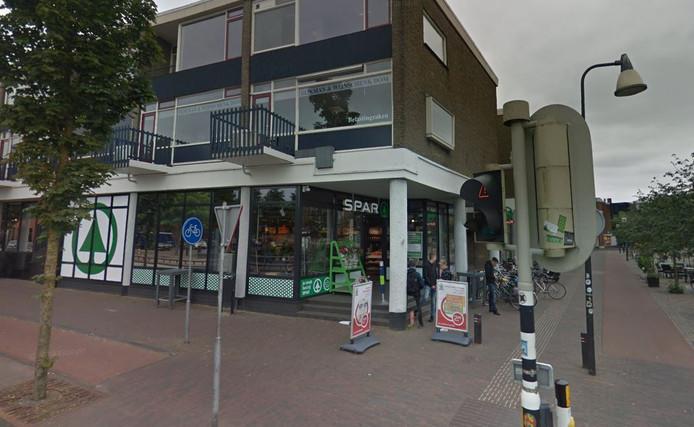 De Spar City in Zutphen werd eind oktober overvallen.