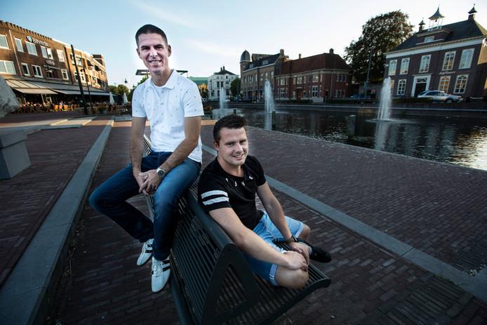 Patrick van Hout (l) en Ralf van den Heuvel (r)