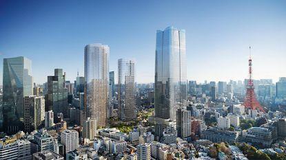 Tokio begonnen aan hoogste wolkenkrabber van Japan