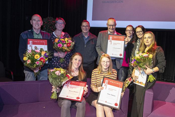 In de gemeente Haaksbergen werden zaterdagavond de vrijwilligers van het jaar bekendgemaakt.