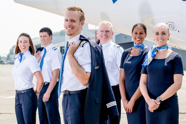 De nieuwe uniformen van VLM.