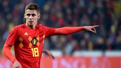 Jonge Hazard speelt net als tegen Cyprus 90 minuten, maar... Thorgan kan niet bevestigen