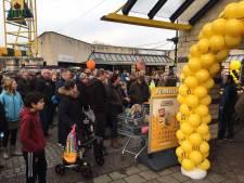 Feest bij heropening van 'weggeblazen' supermarkt Wijk bij Duurstede