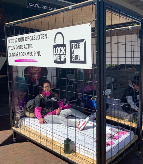 Actie 'Lock me Up - Free a Girl' bij Stan & Co in Arnhem afgelast