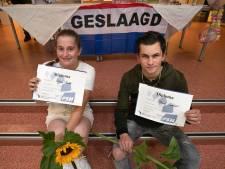 Als eersten een echt diploma van de Praktijkschool Helmond