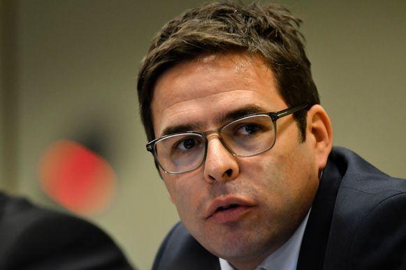 Eric Snoeck, directeur van de federale gerechtelijke politie.