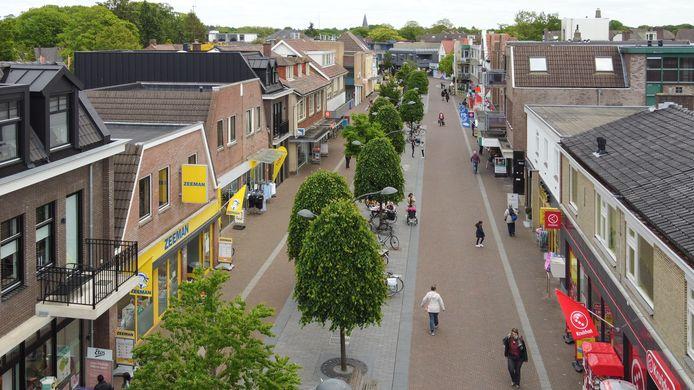 De winkelstraat van Ermelo