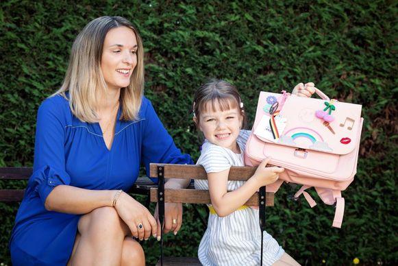 """Suzanne Decock: """"Samen schoolspullen kopen is een traditie die ik graag met mijn dochter voortzet"""""""