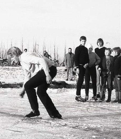 Toen als 16-jarige op het ijs, en nog elke dag fietst Willem (66) langs diezelfde vijver