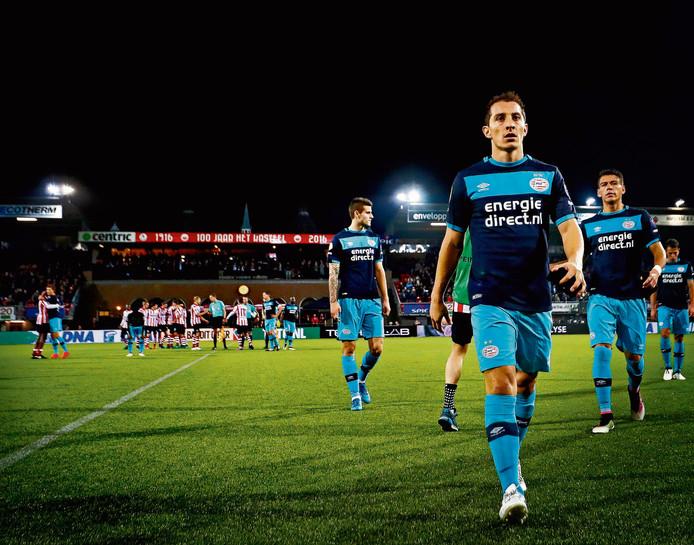 Eerder dit seizoen kreeg PSV in het bekertoernooi een opdonder bij Sparta.
