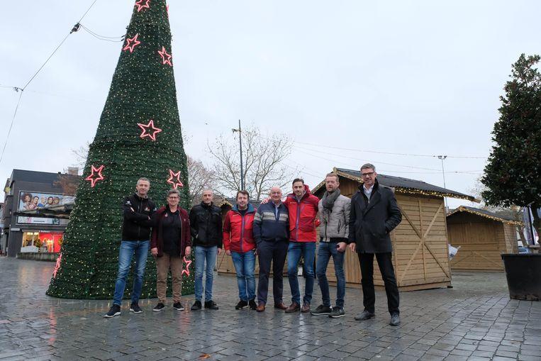 Jan Moons, Ingrid Peeters, Carl De Bie, Didier Praet, Johan Cannaerts, Gert Vercammen, Peter van den Nouweland en Carl Verelst.