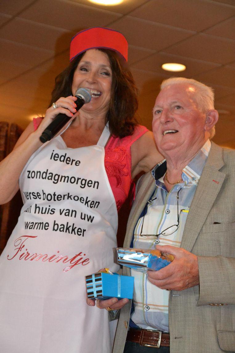 Wendy Van Wanten samen met  Firmintje.