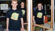 Zesdejaars Oscar Romerocollege scoren met airhockeytafel