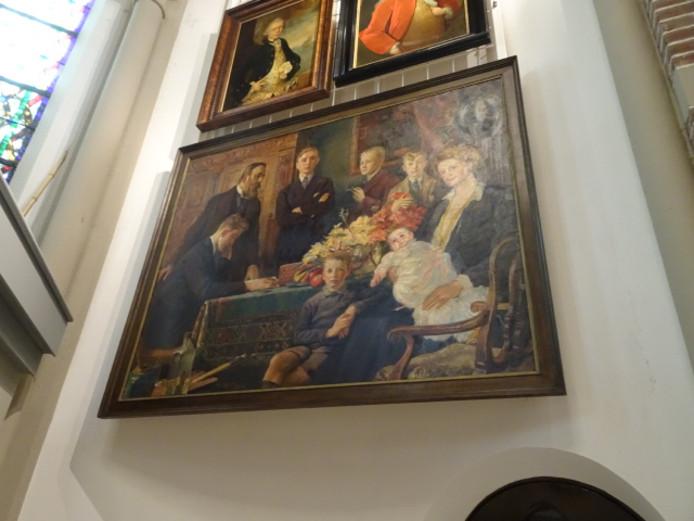 De kunstcollectie in DePetrus is vervangen en bevat onder andere een schilderij van de familie Luns.