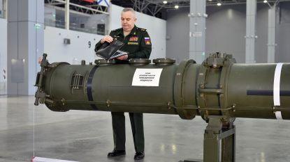 Russisch leger presenteert nieuwe middellange afstandsraket aan buitenlandse experten