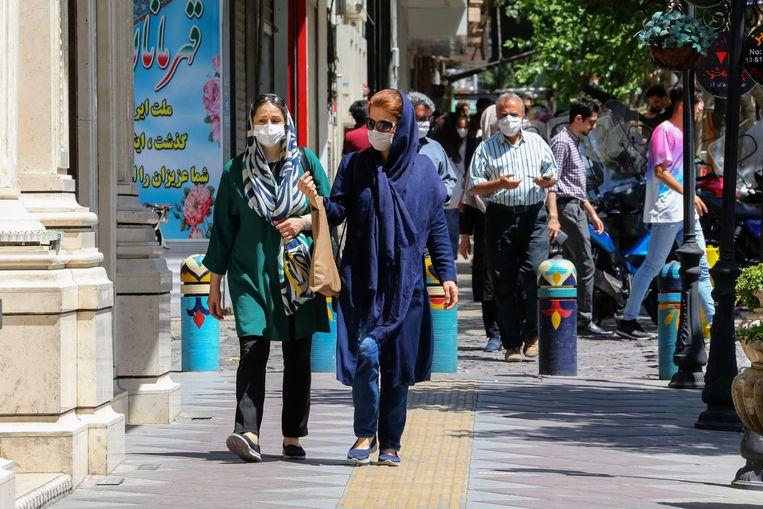 In de hoofdstad van Iran, Teheran.