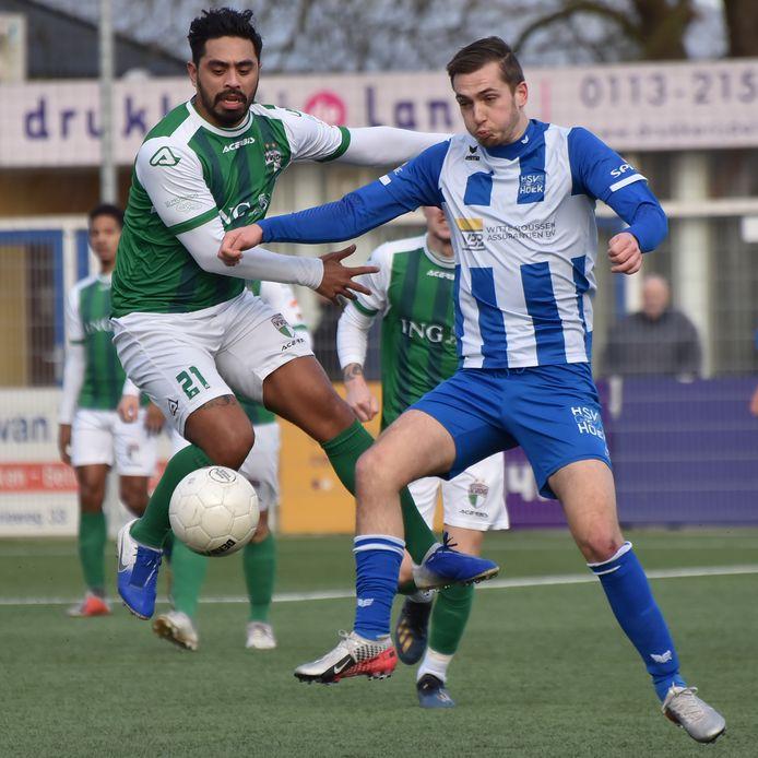 Ruben de Jager tekende voor de 1-0 en 2-0 tegen VVOG